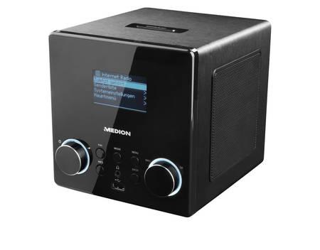 MEDION® LIFE® P85044 (MD 87180), Wireless LAN Internet-Radio, DLNA-/UPnP-Kompatibel, Wiedergabe von USB-Sticks, Steuerung per App für 84,95€ @ Allyouneed