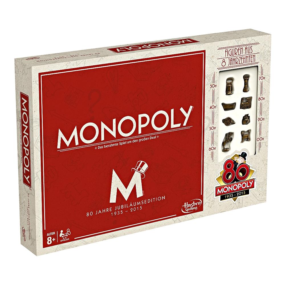 Monopoly 80 Jahre Jubiläumsedition für 12,98€ bei Abholung @ [ToysRUs]