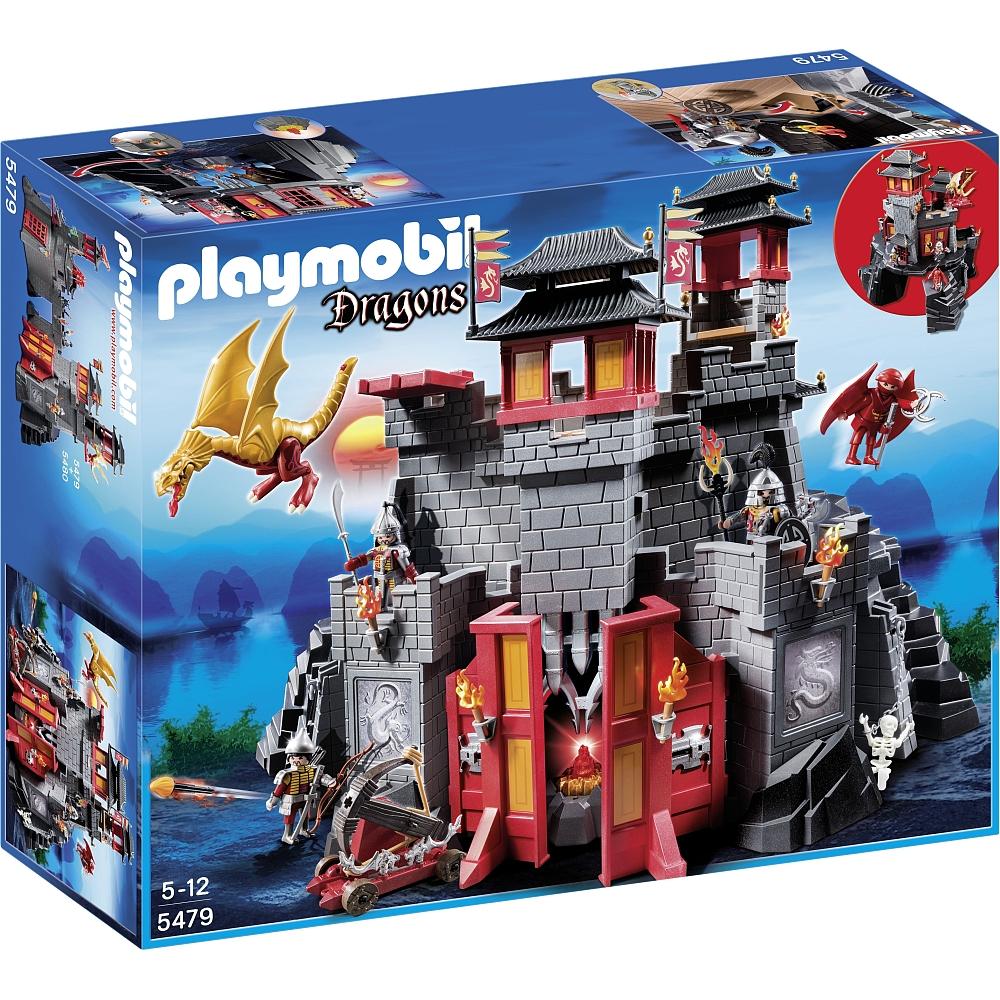 Playmobil Große Asia-Festung (5479) + Geheime Drachenfestung (5480) für 79,98€ bei [ToysRUs] statt rund 91€
