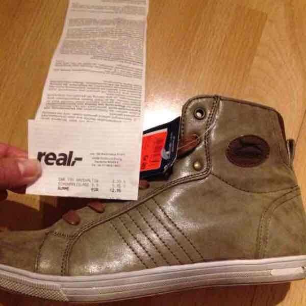 Slazenger Sneaker Dortmund lokal Real 9,95Euro