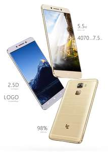 "LeEco Le Pro 3 / 5,5"" / 6GB-64GB [Qualcomm 821] / 4070 mAh Akku / 2,5 Glas / BAND 20! / Fast Charge / AnTuTu 163594 Punkte / Metallbody / 16MP+8MP Kameras x298"