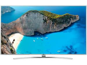 [SATURN-Late-Night]  LG 49UH770V, 123 cm (49 Zoll), UHD 4K, SMART TV, LED TV, 2500 PMI, DVB-T, DVB-T2 (H.265), DVB-C, DVB-S, DVB-S2 für 799€