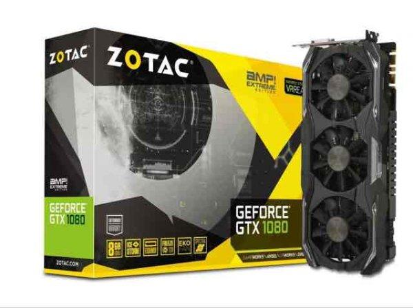 ZOTAC GeForce GTX 1080 AMP Extreme Edition ZT-P10800B-10P