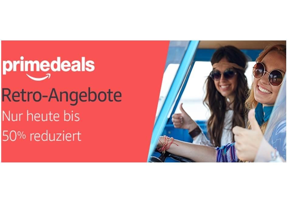 Sammlung der [Amazon prime deals] vom 20.10. Retroartikel bis 50 % reduziert