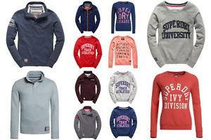 Ebay - Superdry Sweatshirts für Männer und Frauen Versch. Modelle und Farben - Hoodies in seperatem Link