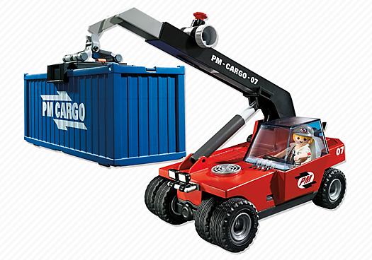 Playmobil 5256 - Großer Containerstapler, 26,94 € @playmobil.de
