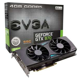 [Amazon] GeForce GTX 970 EVGA 04 SC ACX2.0 1317 MHz [182€]
