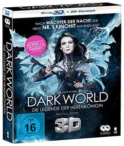 Dark World - Die Legende der Hexenkönigin [3D Blu-ray + 2D Version] für 5,97€