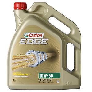 Castrol EDGE TITANIUM FST 10W-60 Motoröl 5 Liter