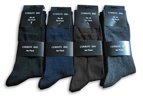 Cerruti Sneaker Socken (6 Paar) kostenlos + 4,95 Euro VSK