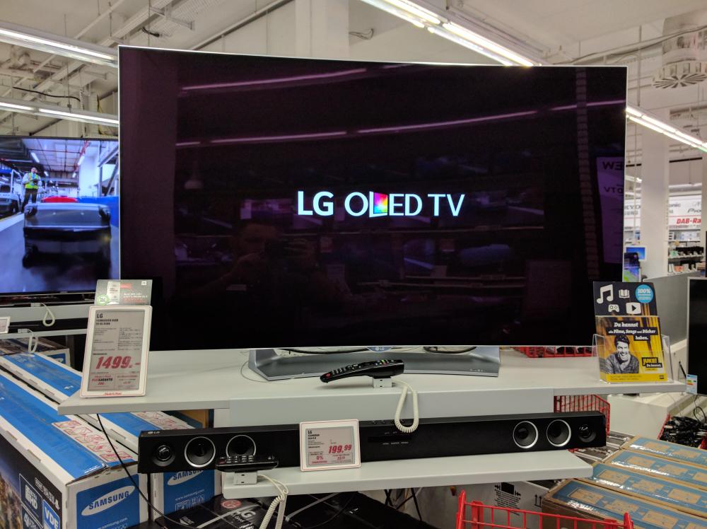 [lokal Media Markt Euro Industriepark München] LG 55EG9109 OLED