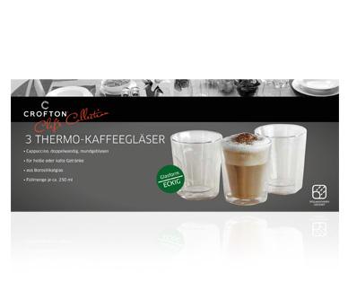 Aldi Süd - Thermo-Kaffee- oder Teegläser