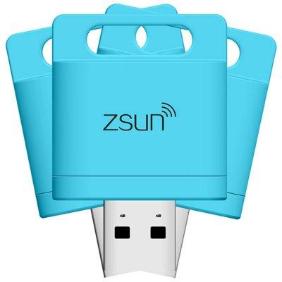 Zsun WiFi USB 2.0 MicroSD Card Reader (iOS/Android/Win) für 5,84€ (Everbuying? Neukunden)