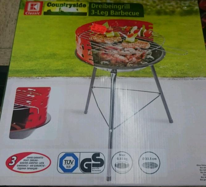 Dreinbeingrill 3-Leg Barbecue im Kaufland Bergkamen-Rünthe