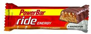 [Amazon Sparabo] Powerbar Ride Riegel, Erdnuss-Karamell, 18 x 55 g, 1er Pack (1 x 990 g Packung) für 7,46€
