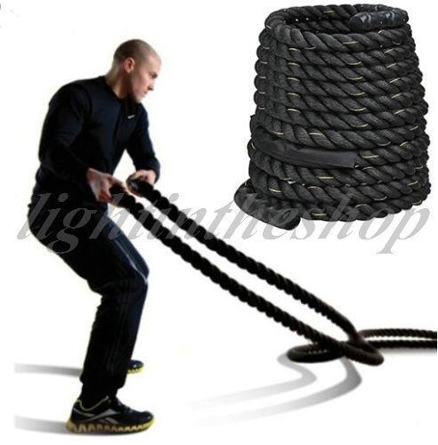 Battle Rope / Trainingsseil 15m/ 12m/ 9m -- 38mm oder 50mm Durchmesser