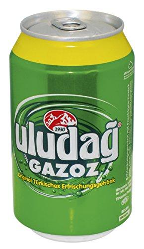 Wieder da [Amazon Preisfehler, Vorbestellung & Prime] Baktat Uludag Gazoz, Einweg, 24er Pack (24 x 330 ml) für eff. 9,13€