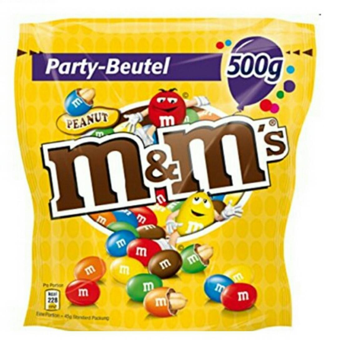 (amazon) M&M's Peanuts ( 4 x 500 g Beutel )