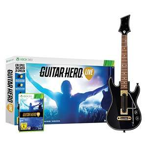 Guitar Hero Live XBOX 360 (neu) mit Gitarrencontroller @ real.de (5€+VSK)