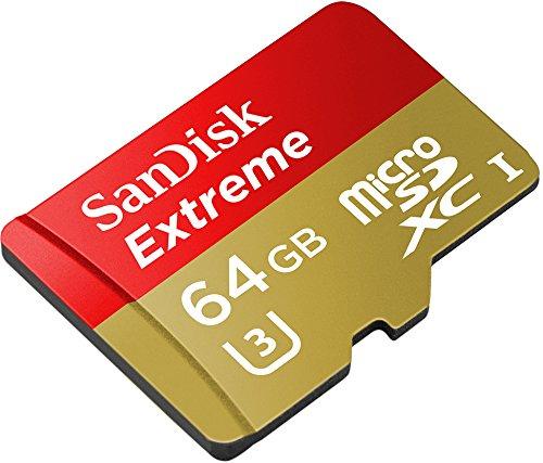 Sandisk Extreme microSDXC 64GB Class 10 / U3 für 24,99€ [Amazon Prime]