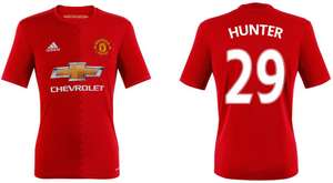 "Manchester United Trikot Home 2017 mit Flock ""Alex Hunter"""