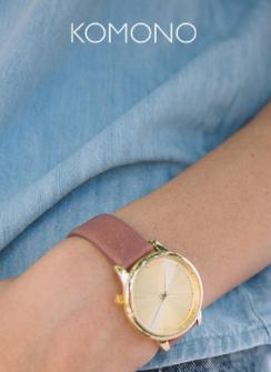 Bis zu 75% Rabatt auf Uhren und Sonnenbrillen von KOMONO @Zalando Lounge