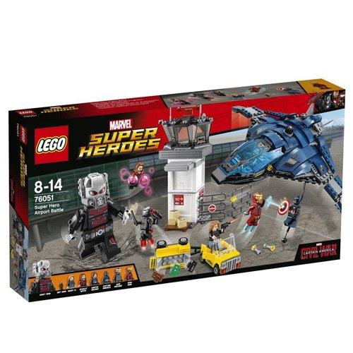 Lego Marvel Super Heroes 76051 Superhelden Einsatz am Flughafen für 55,24€ bei [Amazon]