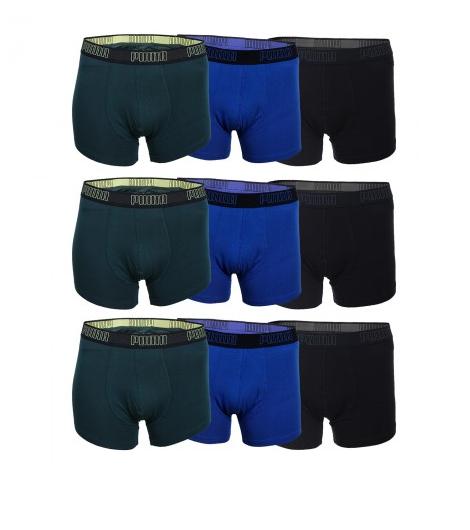 Puma Herren Boxershorts Outline (9er Pack) für 35,95€ statt 51,99€ @Mybodywear