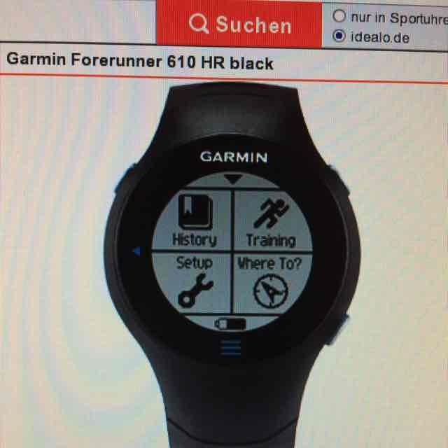 Garmin Forerunner  610 HR (Brustgürtel), GPS, *Offline* Runners Point