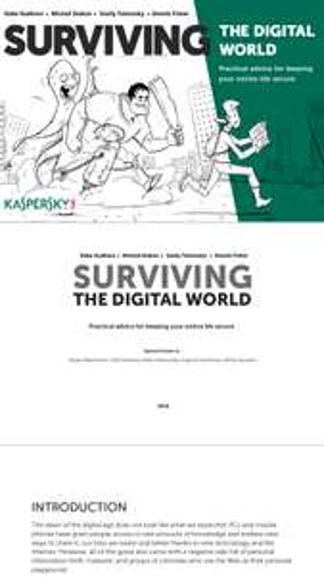 Kaspersky eBook über soziale Netzwerke als PDF