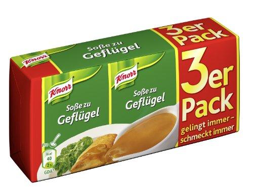 Amazon Spar-Abo: Knorr Soße zu Geflügel, 15er Pack (15 x 750 ml)