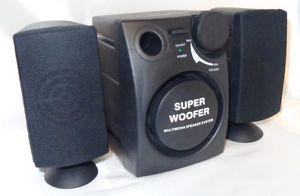 2.1 Soundsystem SubWoofer 600W inkl. Versand