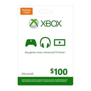 [Dell.com] 100 USD digitale Xbox Live Guthabenkarte für 90 USD