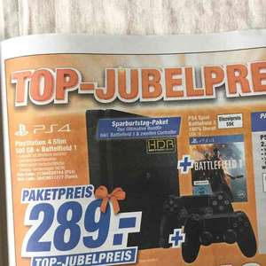 [LOKAL Schaumburg] PlayStation 4 Slim + 2. Controller + Battlefield