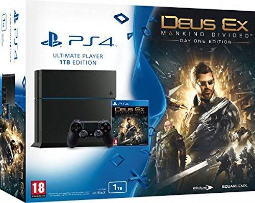 Playstation 4 1TB + Deus Ex: Mankind Divided für 263,94€ (Amazon.es)