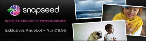 Snapseed Desktop (Windows) (9,95 € statt 15,95 €)