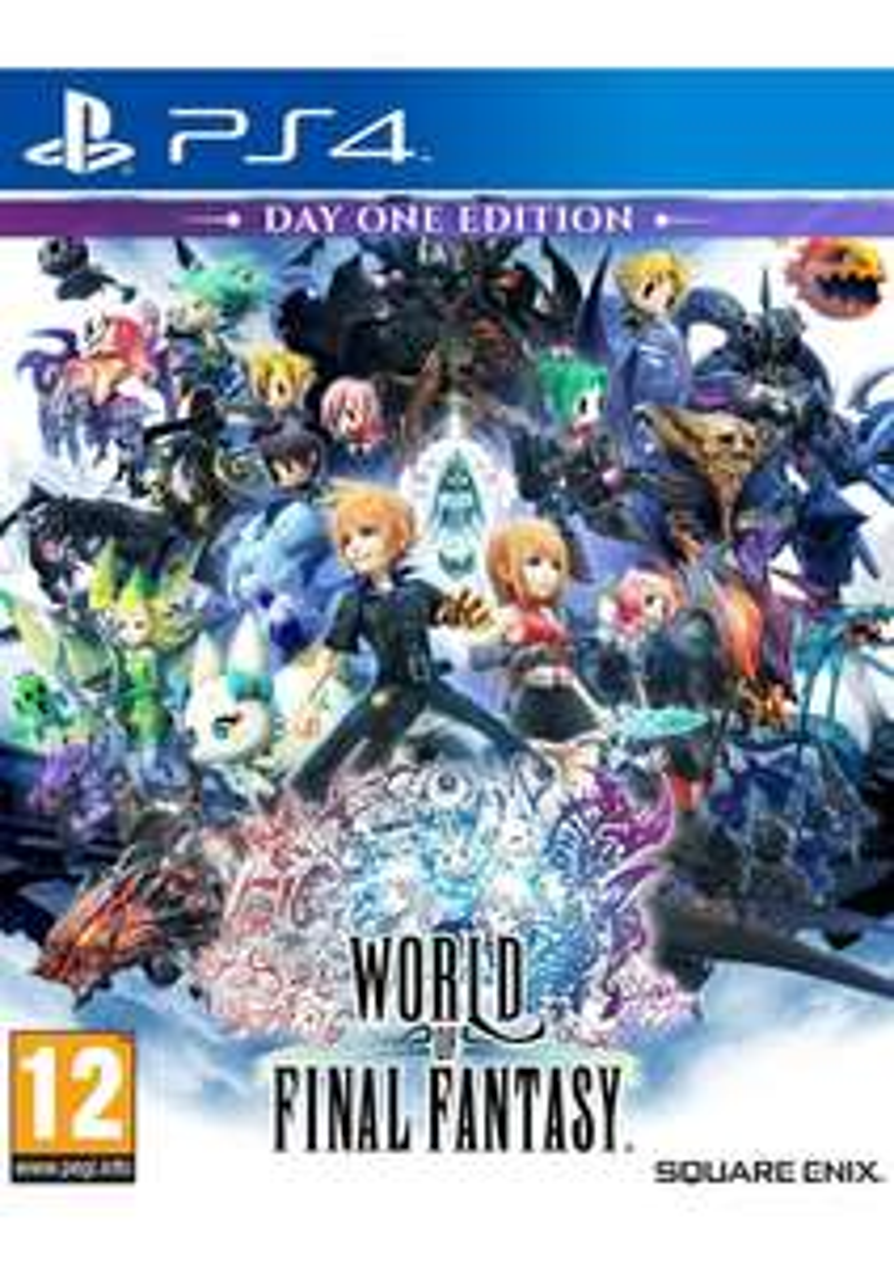 World of Final Fantasy: Day One Edition (PS4) [Vorbestellung] [UK]