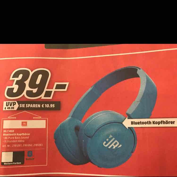 [lokal] Neuss JBL T 450 Bluetooth Kopfhörer Mediamarkt