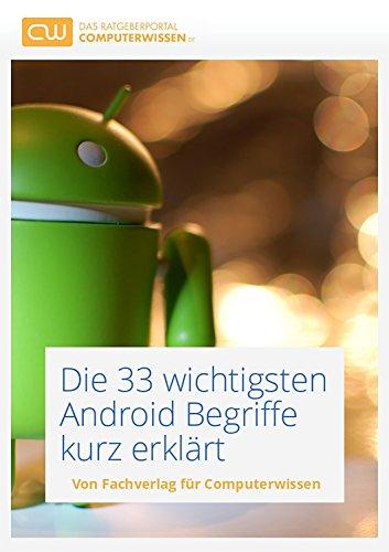 Kindle:Die 33 wichtigsten Android Begriffe kurz erklärt