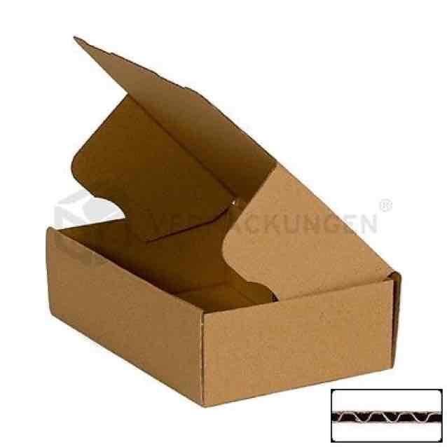 100 Faltkartons Faltschachtel Kartons 160x110x60mm (ebay) für 15,21€ und kostenlosem Versand (oder 16,90€ bei Amazon.de)