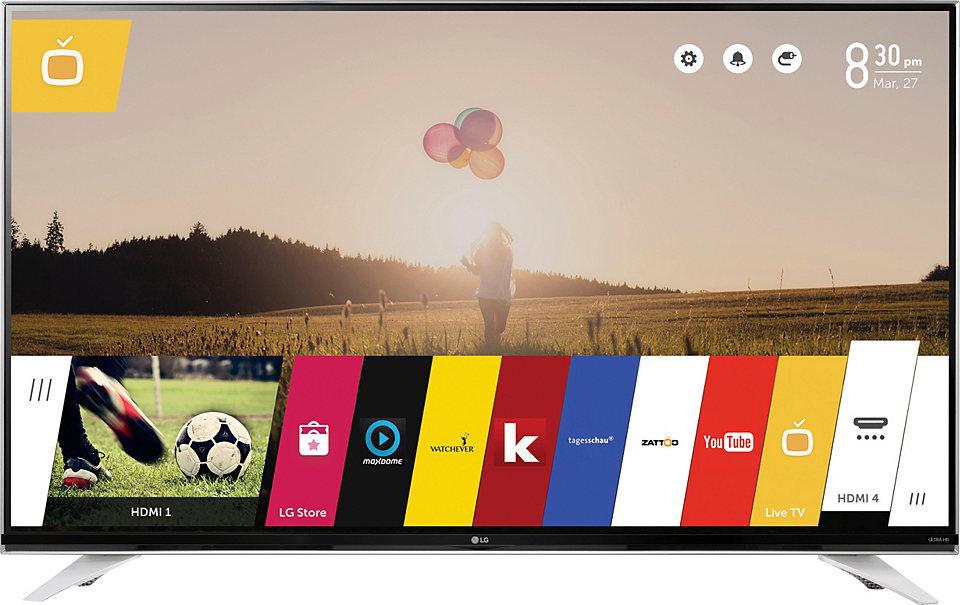LG UltraHD 55´´ TV für 799 € statt 1115 €