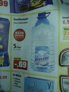 Prepper Deal: 5 L Quellwasser (Thomas Philipps offline)