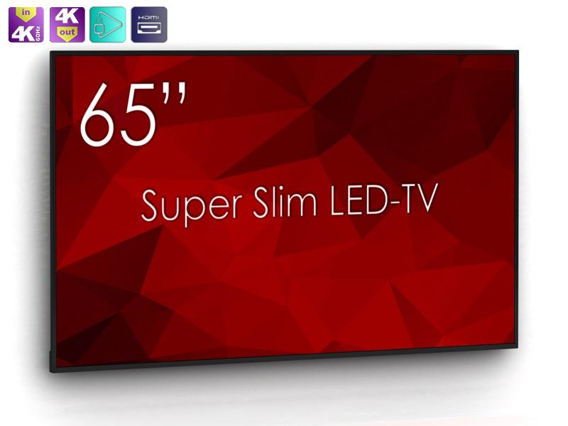 """UHD LED TV 65"""" ohne Extras und auch noch aus Schweden..."""