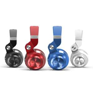 Bluedio T2+ (Turbine 2 Plus) Bluetooth On-Ear Kopfhörer mit Mikrofon, Micro SD (TF) ab 27,49€