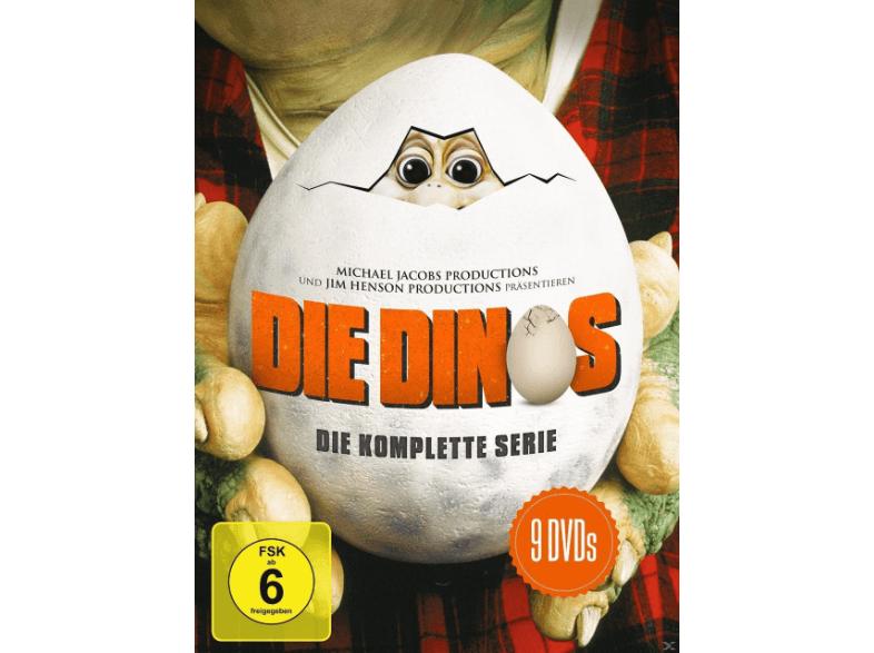 Die Dinos - Die komplette Serie (9 DVDs) für 19€ versandkostenfrei [Saturn]