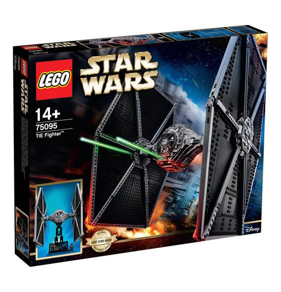 15% auf Lego Star Wars, Creator & Technic sowie 20% auf Playmobil, z.B. TIE Fighter 75095 für knapp 138 € [Galeria Kaufhof]