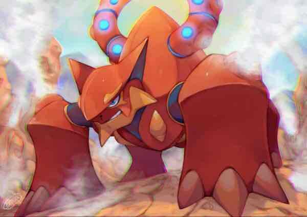 Volcanion für Pokemon X/Y + ORAS