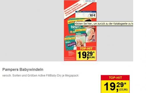 (Offline) Pampers Windeln @Metro Stückpreis 0,14€