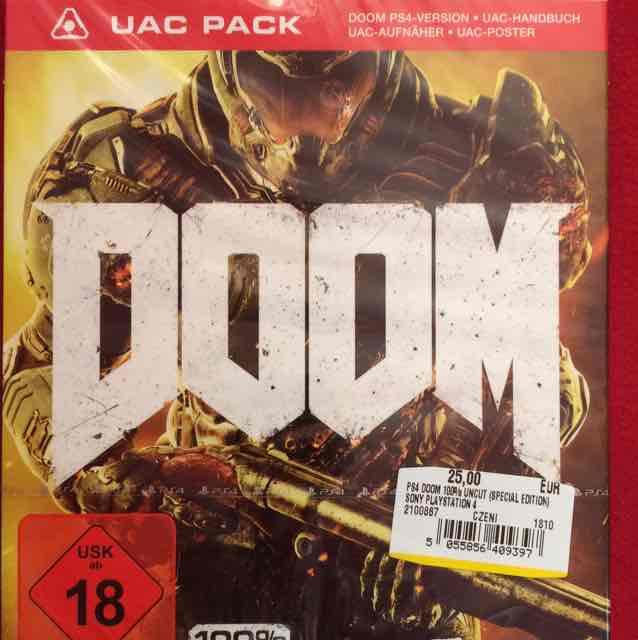 DOOM (PS4) für 25€ [Media Markt Eiche]