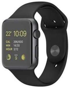 [digitalo.de] Apple Watch 42mm Sportarmband black / Edelstahlvariante (MJ3T2DD/A)